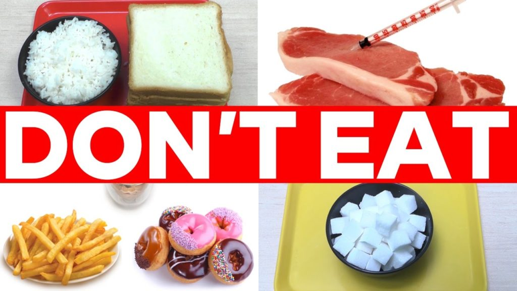Food to avoid